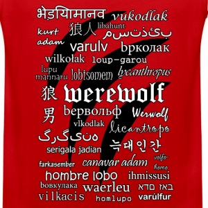Werewolf in 33 Languages Sportswear - Men's Premium Tank