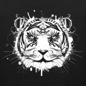 Head of a white tiger Sportswear - Men's Premium Tank