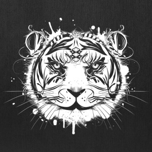 Head of a white tiger Bags & backpacks - Tote Bag