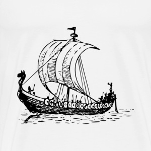 Viking Ship - Men's Premium T-Shirt