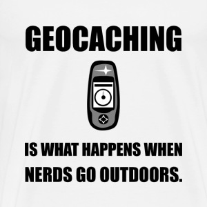 Geocaching Nerds - Men's Premium T-Shirt