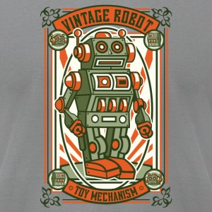 Vintage Toy Robot T-Shirts - Men's T-Shirt by American Apparel