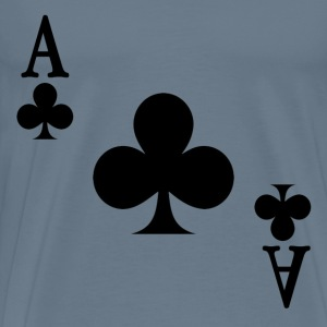 Ace of Clubs - Men's Premium T-Shirt
