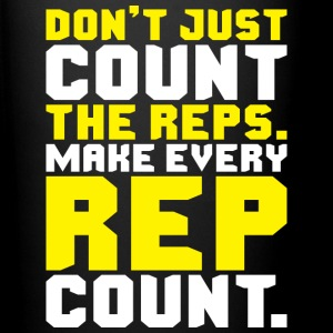 Don't Just Count The Reps. Make Every Rep Count. Mugs & Drinkware - Full Color Mug