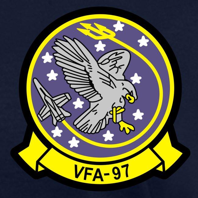 USS JOHN C STENNIS w/ VFA-97 WARHAWKS 2016 WESTPAC CRUISE SHIRT - WOMEN'S FAMILY VERSION