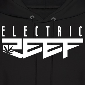Electric Reef / Cannabis Logo - Men's Hoodie
