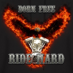 Born Free Ride Hard Hoodies - Men's Hoodie