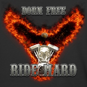 Born Free Ride Hard T-Shirts - Baseball T-Shirt