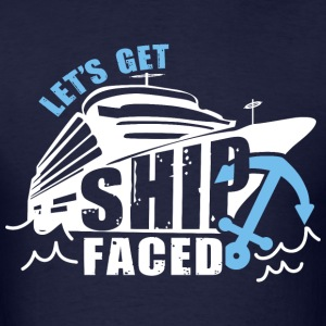 Ship Faced - Men's T-Shirt