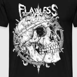 Flawless Shades skull - Men's Premium T-Shirt