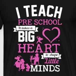 Teach Pre School Shirt - Men's Premium T-Shirt