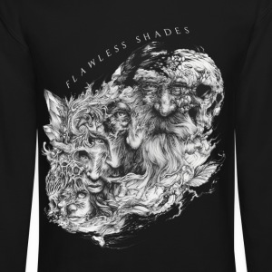 Flawless Shades human and skeleton - Crewneck Sweatshirt