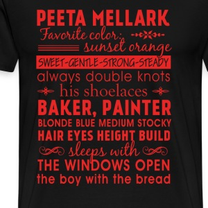 Peeta Mellark - Awesome t-shirt for peeta's fans - Men's Premium T-Shirt