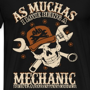 Mechanic - Being a dad is way cooler awesome tee - Men's Premium T-Shirt