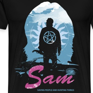 Sam Supernatural Tshirt for supernatural fan - Men's Premium T-Shirt