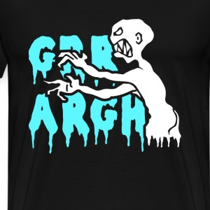 Zombie - Freaking ugly zombie t-shirt for all - Men's Premium T-Shirt