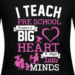 Teach Pre School Shirt - Women's Long Sleeve Jersey T-Shirt