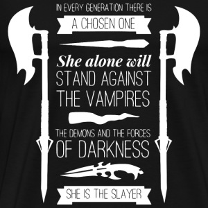 Buffy the Vampire - Chosen One - Men's Premium T-Shirt