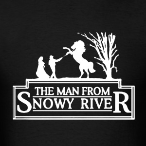 Man From Snowy River - Men's T-Shirt