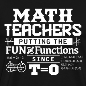 Math Teacher Shirt - Men's Premium T-Shirt