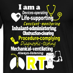 I Am A RT Nurse - Men's Premium T-Shirt