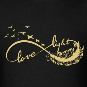 Infinite Love And Light - Men's T-Shirt