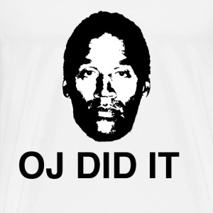 OJ DID IT - Men's Premium T-Shirt