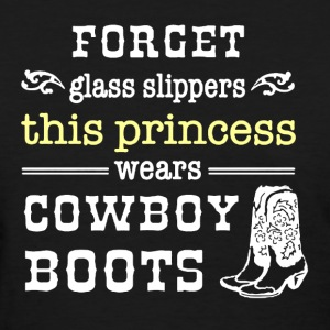 Princess In Boots T-Shirt - Women's T-Shirt
