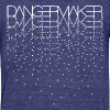 Unisex Dots AA Tee - Unisex Tri-Blend T-Shirt by American Apparel