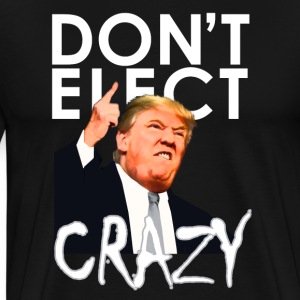 Please, Don't Elect Crazy! T-Shirts - Men's Premium T-Shirt