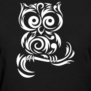 Little Owl Tribal - Women's T-Shirt