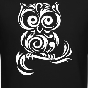 Little Owl Tribal - Crewneck Sweatshirt