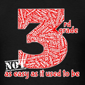 3rd Grade Teacher Shirt - Men's T-Shirt