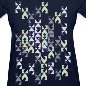Geometric shapes pattern Women's T-Shirt - Women's T-Shirt
