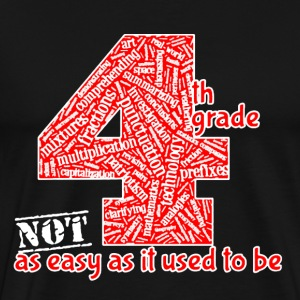4th Grade Teacher Shirt - Men's Premium T-Shirt