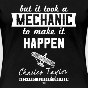 Aircraft Mechanic Shirt - Women's Premium T-Shirt
