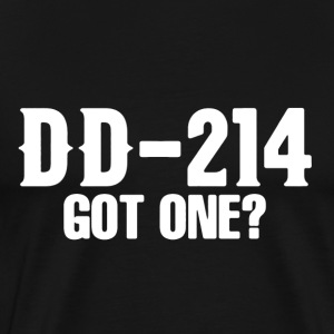 Veteran DD-214 Shirt - Men's Premium T-Shirt