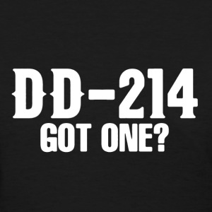 Veteran DD-214 Shirt - Women's T-Shirt