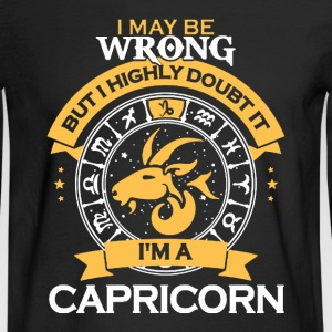 Capricorn Shirt - Men's Long Sleeve T-Shirt