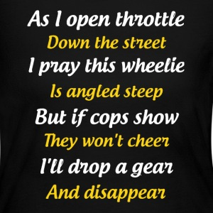 Drop A Gear Shirt - Women's Long Sleeve Jersey T-Shirt