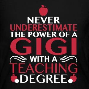 Gigi With Teaching Degree - Women's Long Sleeve Jersey T-Shirt