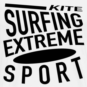 KITE SURFING - Men's Premium T-Shirt