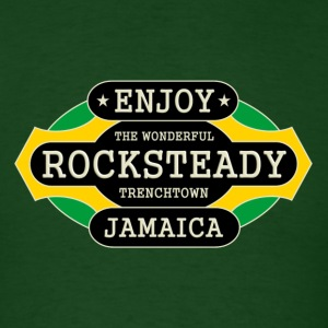 enjoy rocksteady - Men's T-Shirt