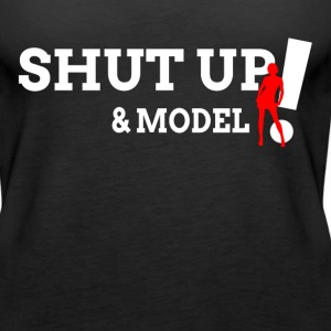 Shut Up and Model Tanks - Women's Premium Tank Top