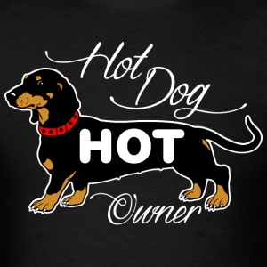 Hot Dog Hot Owner T-Shirts - Men's T-Shirt
