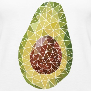 Avocado (Polygon Style) Tanks - Women's Premium Tank Top