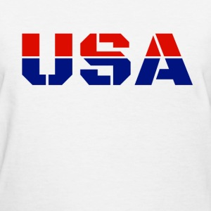 USA T-Shirts - Women's T-Shirt
