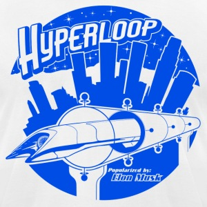HYPERLOOP shirt - Men's T-Shirt by American Apparel