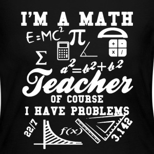 Math Teacher Problem - Women's Long Sleeve Jersey T-Shirt