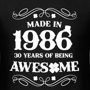 Irish Made In 1986 - Men's T-Shirt